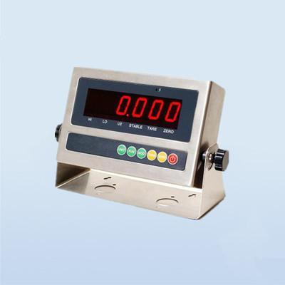博兰森高精度工业称重测力仪表大屏显示称重重量数据