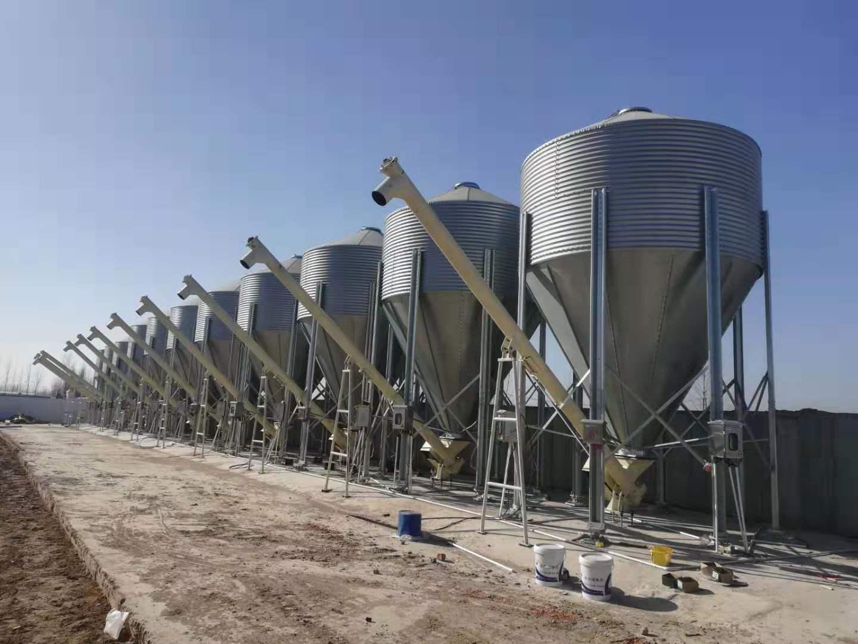 高精度工业称重设备-料仓称重系统
