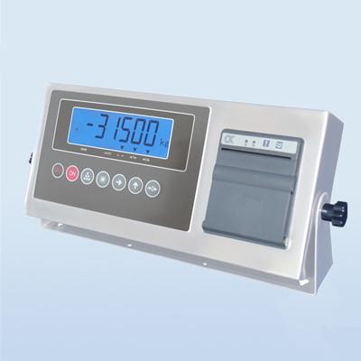工业称重测力仪表-高精度称重显示器带内置标签打印机